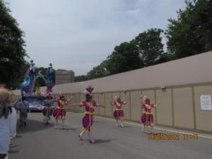 6. The carnaval in Everland (like Disneyland)