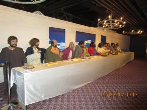 The last Supper. Sumber foto: Dokumen pribadi