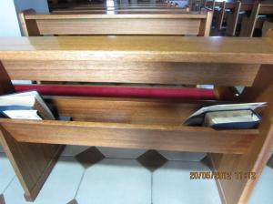 Tertata rapi dan bersih meski tak ada tempat berlututnya. Sumber foto: Dokumen pribadi.