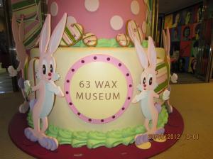 Wax Museum 63 di Seoul. Tiket masuknya sebesar 14000 KRW. Sumber foto: Dokumen pribadi