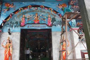 Sri Mariamman Temple di Medan. Sumber foto: Dokumen pribadi