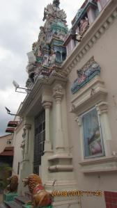 Pintu utama Sri Mariamman Temple di Penang. Sumber foto: Dokumen pribadi