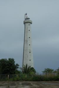Tower pengawasan di perbatasan. Sumber foto: Dokumen pribadi