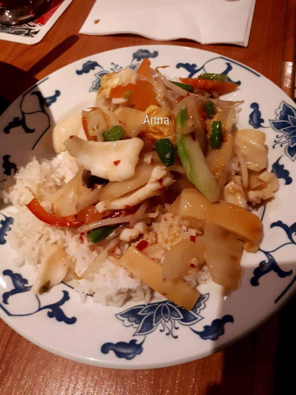 Makanan Asia di Jerman (7): Tumis Cumi Saus Bawang Putih ...